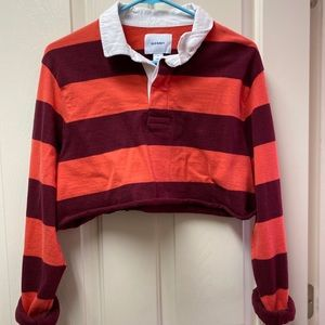 Cropped old navy polo